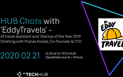 HUB Chats with EddyTravels (Startup of the Year 2019)